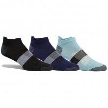 Asics Laufsocken Sneaker Lyte schwarz/dunkelblau/hellblau - 3 Paar