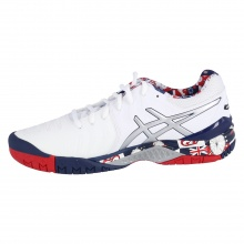 Asics Gel Resolution 7 L.E. London 2017 weiss Tennisschuhe Herren