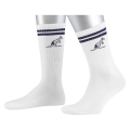 Australian Tennissocke Stripes 2017 weiss/navy 1er