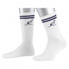 Australian Tennissocke Stripes 2017 weiss 1er