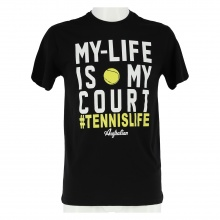 Australian Tshirt My Life 2017 schwarz Herren
