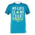 Australian Tshirt My Life 2017 mint Herren