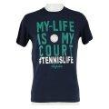 Australian Tshirt My Life 2017 dunkelblau Herren