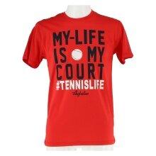Australian Tshirt My Life 2017 rot Herren