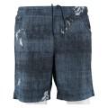 Australian Tennishose Short Slam Print kurz jeansblau Herren