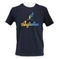 Australian Tshirt Logo 2019 navy/bunt Herren