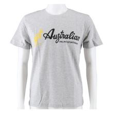 Australian Tshirt Logo 2019 hellgrau/schwarz Herren