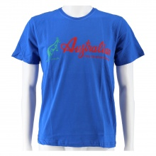 Australian Tshirt Logo blau/rot Herren