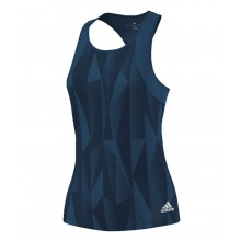 Adidas Tank Club Graphic 2016 navy Damen