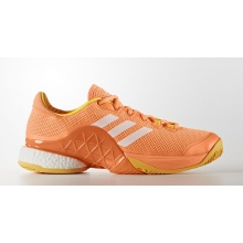 Adidas Barricade Boost 2017 orange Tennisschuhe Herren