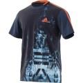 Adidas Tshirt Advantage Trend 2017 navy Herren