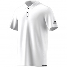 Adidas Polo Uncontrol Climachill 2017 weiss Herren
