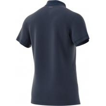 adidas Polo Heathered #18 navy Herren