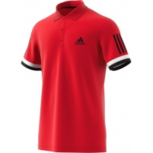 adidas Polo Club 3 Stripes 2018 rot Herren