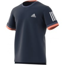 Adidas Tshirt Club 3 Stripes 2018 navy Herren