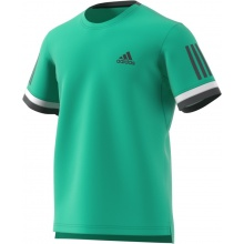 adidas Tshirt Club 3 Stripes 2018 grün Herren