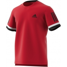 adidas Tshirt Club 3 Stripes 2018 rot Herren