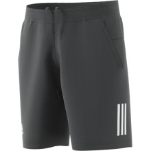 adidas Short Club 3 Stripes 2018 grau Herren