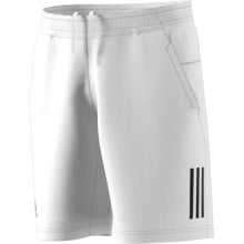 Adidas Short Club 3 Stripes 2018 weiss Herren