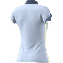 adidas Polo Club 3 Stripes #18 hellblau Damen