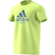 adidas Tshirt Category Logo 2018 gelb Herren