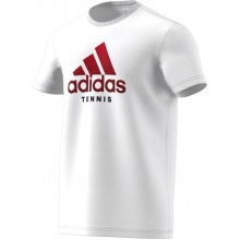 adidas Tshirt Category Logo 2018 weiss Herren