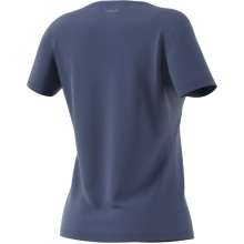 adidas Tshirt Category Logo blau Damen