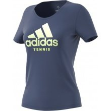 adidas Tshirt Category Logo 2018 blau Damen