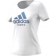 adidas Tshirt Category Logo 2018 weiss Damen