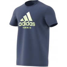 adidas Tshirt Category Logo 2018 blau Herren