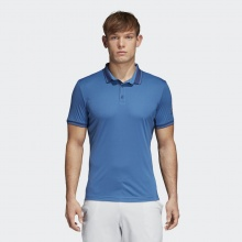 adidas Polo Pique 2018 blau Herren