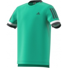 adidas Tshirt Club 3 Stripes 2018 grün Boys