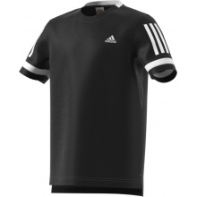 adidas Tshirt Club 3 Stripes 2018 schwarz Boys