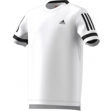 adidas Tshirt Club 3 Stripes 2018 weiss Boys
