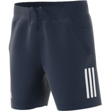 adidas Short Club 3 Stripes 2018 navy Boys