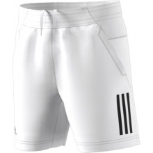 adidas Short Club 3 Stripes 2018 weiss Boys