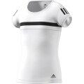 adidas Tennis-Shirt Club #18 weiss Girls