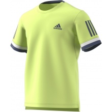 Adidas Tshirt Club 3 Stripes 2018 gelb Herren