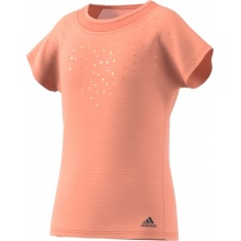 adidas Shirt Dotty 2018 koralle Girls