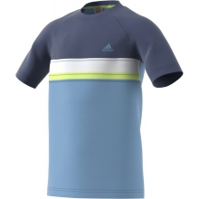 adidas Tennis-Tshirt Club Color Block blau Jungen