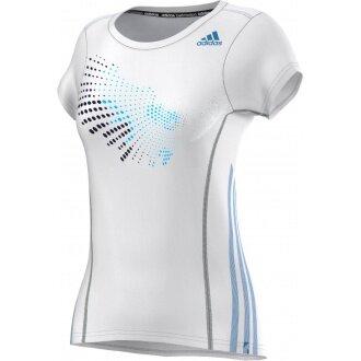 Adidas Shirt BT Graph Tee weiss Damen