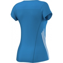 adidas Shirt BT Graph Tee blau Damen