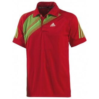 Adidas Polo Atake rot Herren