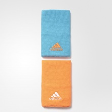 Adidas Schweissband Jumbo 2017 blau/orange 2er