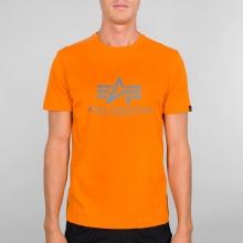 Alpha Industries Tshirt Basic alpha orange Herren
