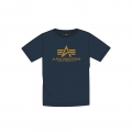 Alpha Industries Tshirt Basic new navy Herren