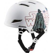 Alpina Fahrradhelm Park Star Wars weiss Kinder