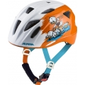Alpina Fahrradhelm Ximo Disney Donald Duck weiss/orange Kinder