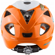 Alpina Fahrradhelm Ximo Disney Donald Duck weiss/orange Kinder