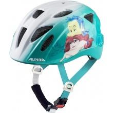 Alpina Fahrradhelm Ximo Disney Ariel weiss/aqua Kinder